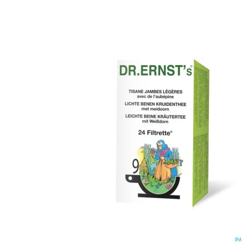 Dr Ernst N°9 Tisane Jambes Légères 24 Infusions