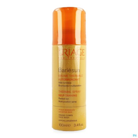 Uriage Bariésun Brume Thermale Autobronzante Spray 100ml