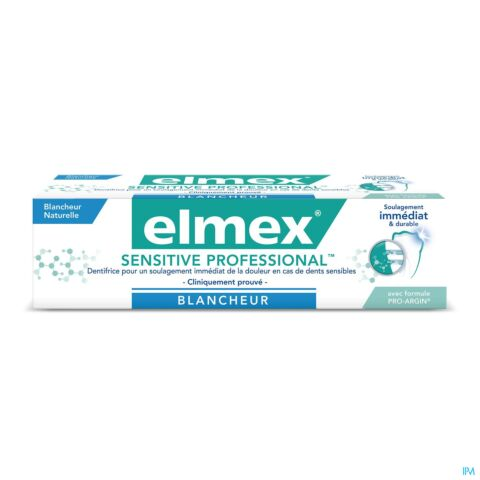 Elmex Sensitive Professional Blancheur Dentifrice Tube 75ml