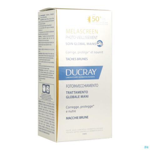 Ducray Melascreen Photo-Vieillissement Soin Global Mains Tube 50ml
