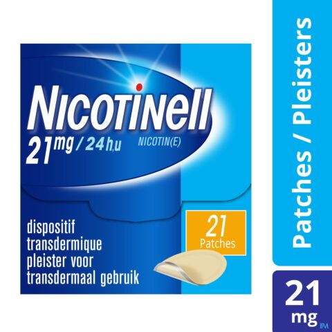 Nicotinell TTS 21mg 21 Patchs