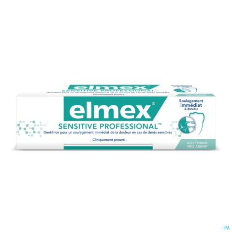 Elmex Sensitive Professional Dentifrice Tube 75ml