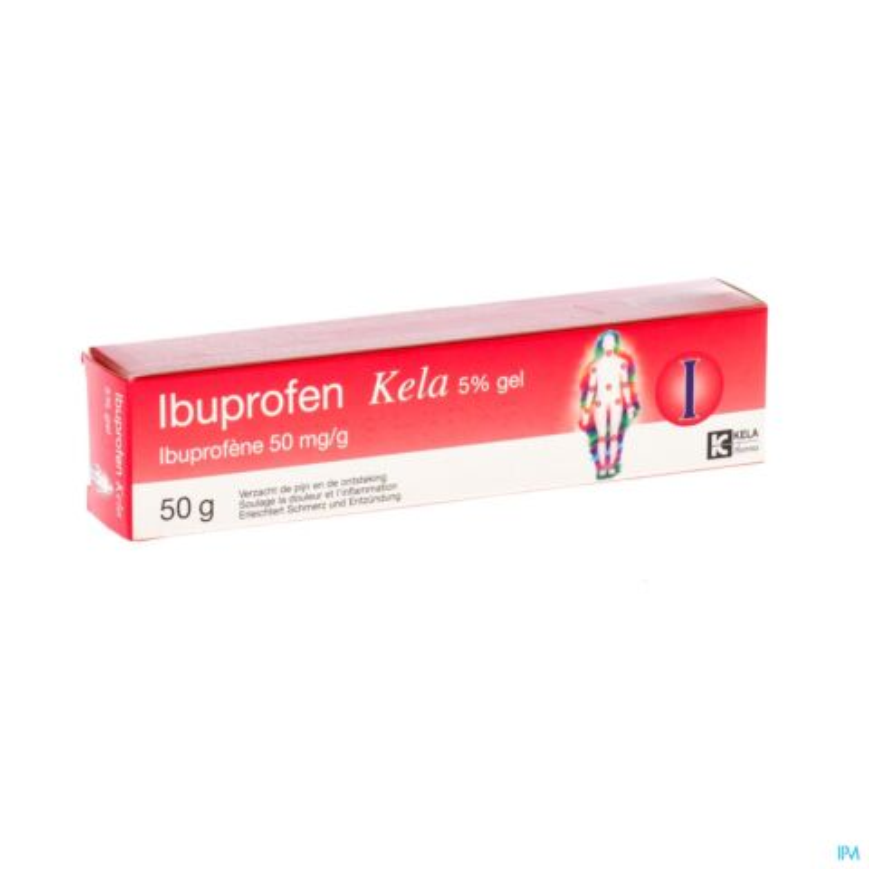 Ibuprofen Kela 5% Gel Tube 50g