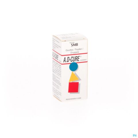 A.D-Cure Vitamines A & D Solution en Gouttes 10ml