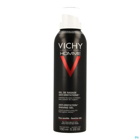 Vichy Homme Gel de Rasage Anti-Irritations Spray 150ml