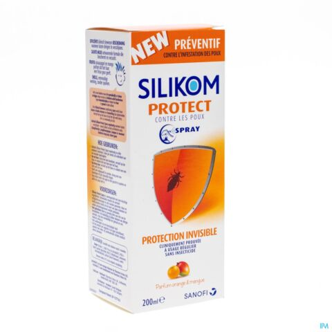 Silikom Protect Protection Anti-Poux Spray 200ml