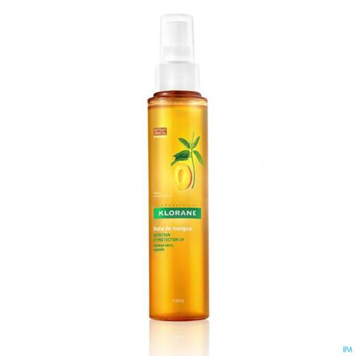 Klorane Nutrition Huile de Mangue Cheveux Secs & Exposés Spray 125ml