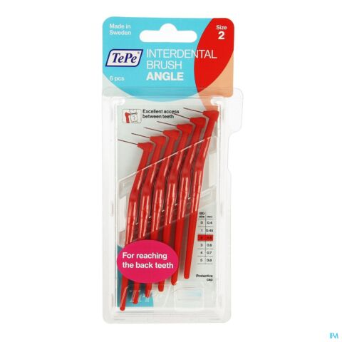 TEPE ANGLE INTERDENTAL RAGERS RED 2 6 051004