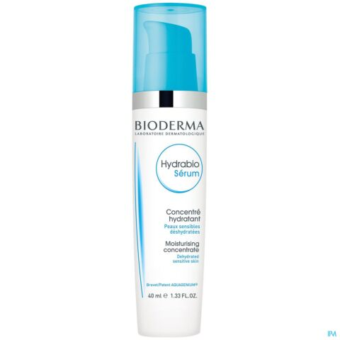 Bioderma Hydrabio Sérum Concentré Hydratant Flacon Airless 40ml