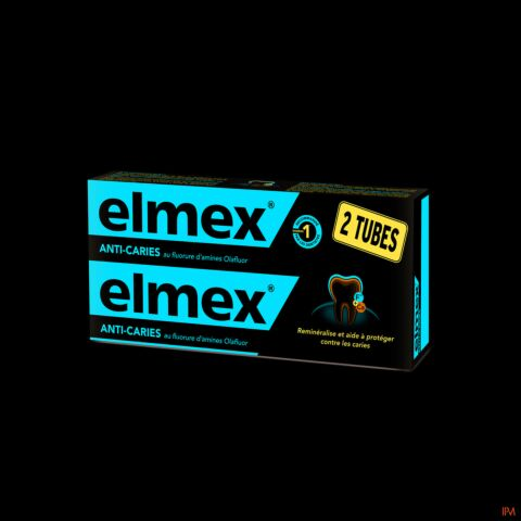 Elmex Protection Caries Dentifrice Tube PROMO 2x75ml