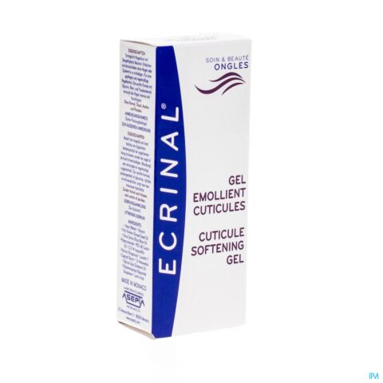 Ecrinal Gel Emollient Cuticules Tube 10ml