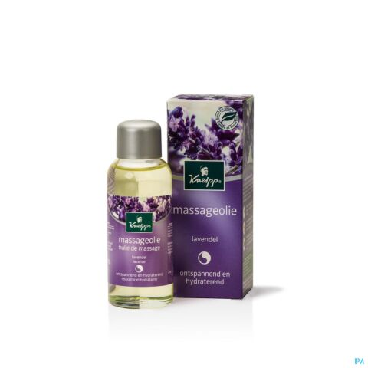 Kneipp Huile de Massage Relaxante et Hydratante Lavande Flacon 100ml