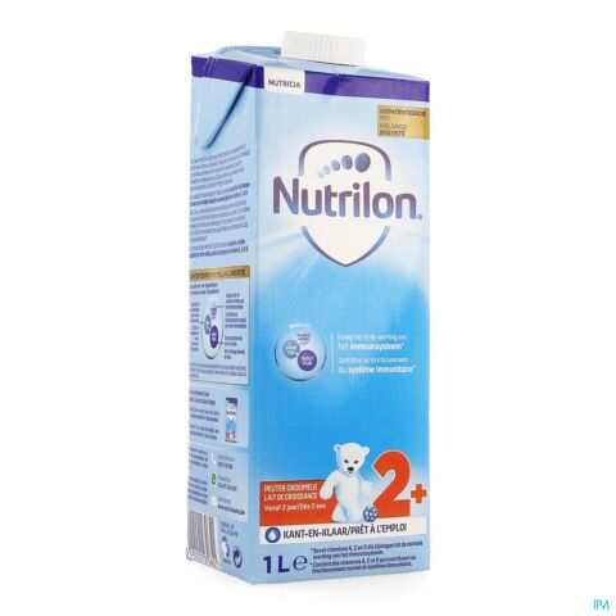 Nutrilon Lait de Croissance +2ans 1l