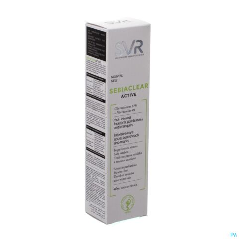 SVR Sebiaclear Active Soin Intensif Boutons Points Noirs Anti-Marques Tube 40ml