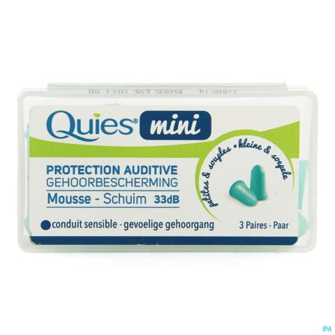 QUIES OORDOPPEN MINI MOUSSE 6 ST