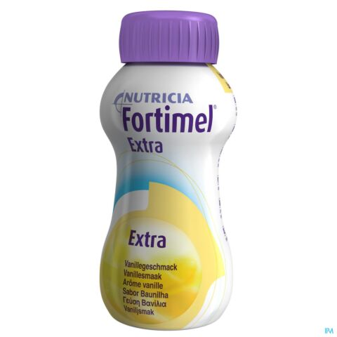 Fortimel Extra Vanille Bouteille 4x200ml