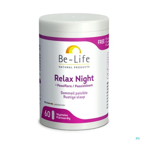Be-Life Relax Night Sommeil Paisible 60 Gélules
