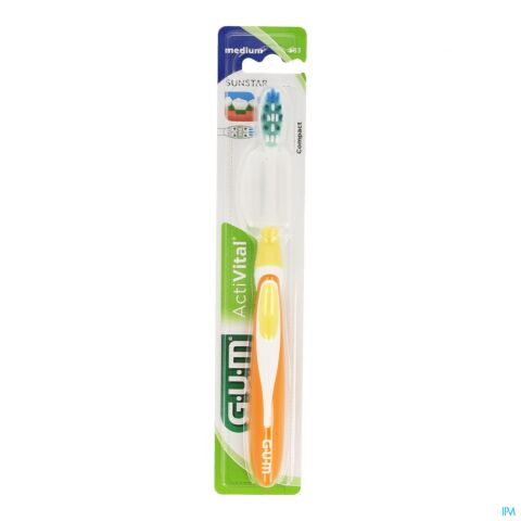 GUM ACTIVITAL COMP BROSSE MEDIUM 583