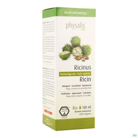 PHYSALIS HLE VEGETAL RICINE BIO 100ML