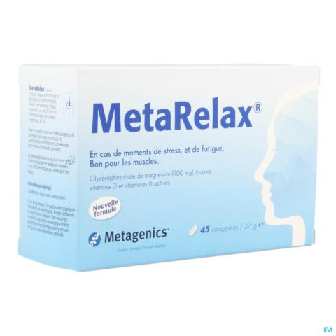 METARELAX NF TABL 45 16109 METAGENICS