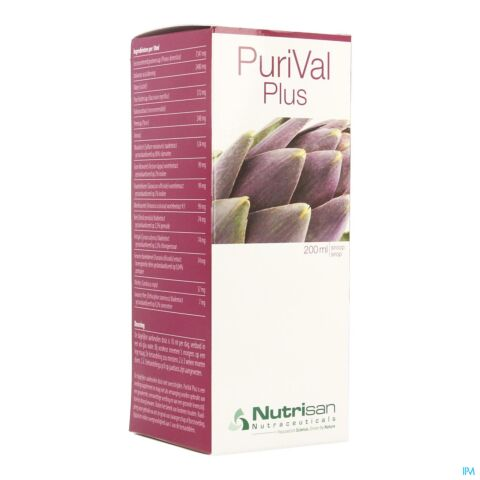 Nutrisan PuriVal Plus Sirop Flacon 200ml