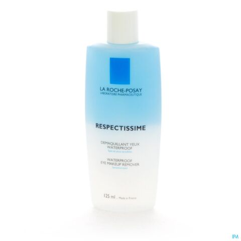 La Roche-Posay Respectissime Démaquillant Yeux Waterproof Flacon 125ml