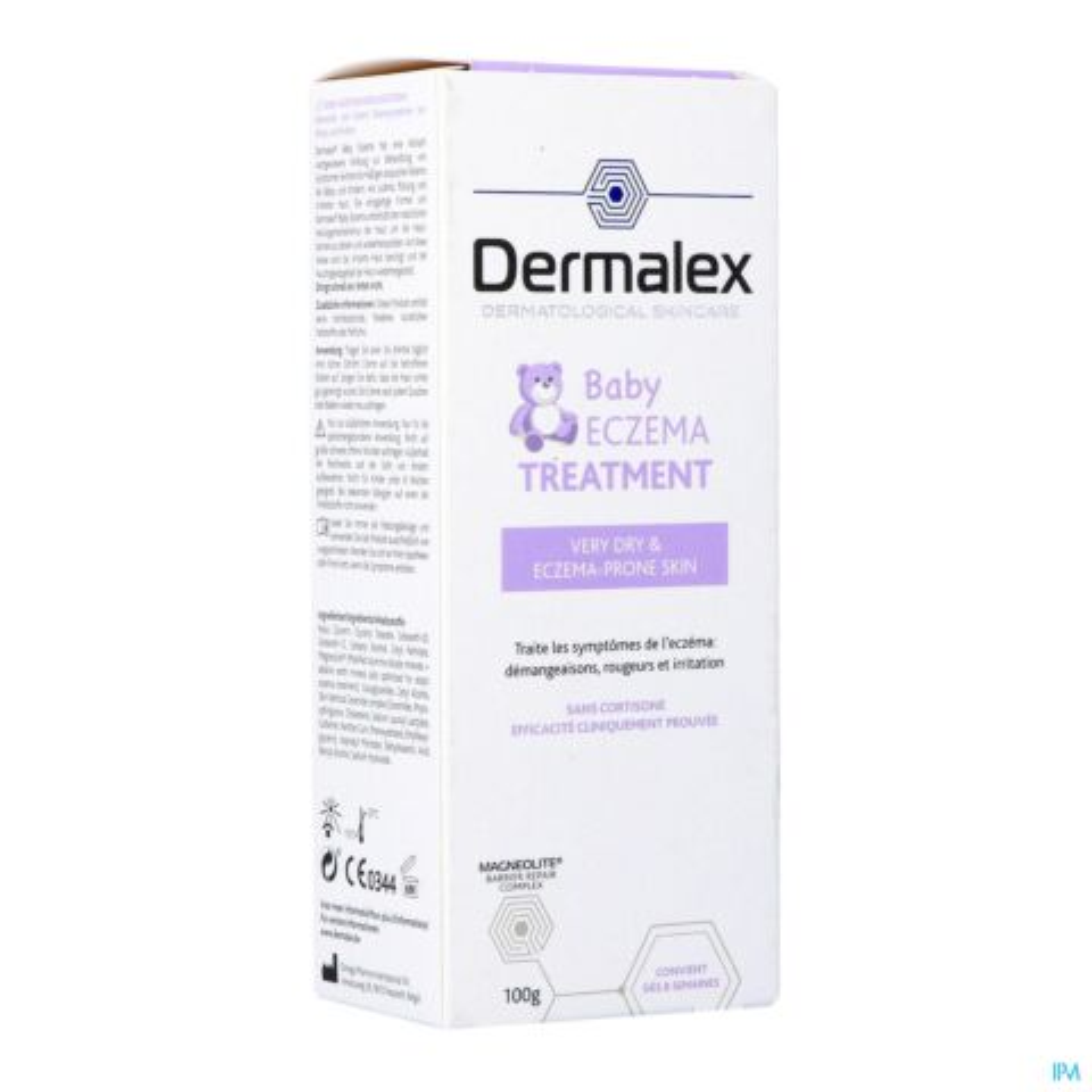 Dermalex Baby Traitement Eczéma Bébés & Enfants Crème Tube 100g