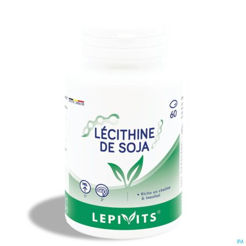 LEPPIN LECITHINE DE SOYA 1200MG CAPS 60