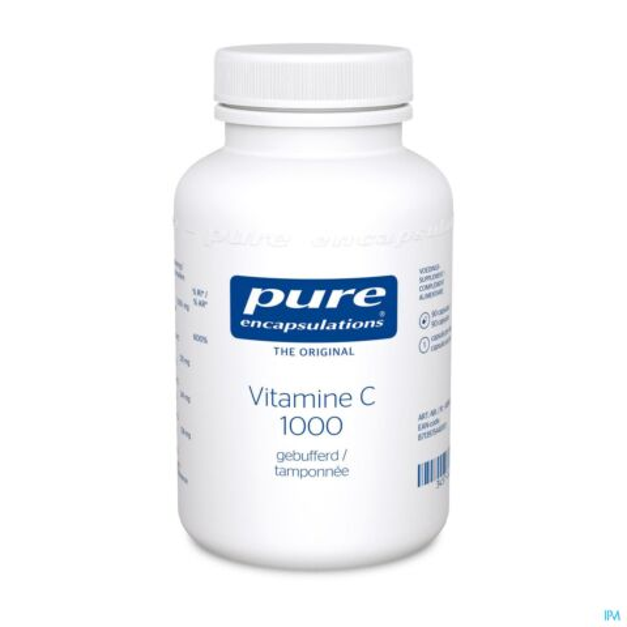 Pure Encapsulations Vitamine C 1000 Tamponnée 90 Gélules