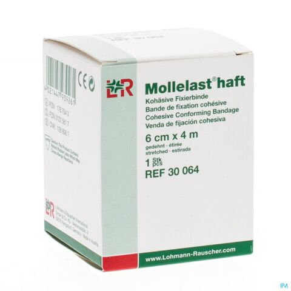 MOLLELAST HAFT BANDE ELAST ADH 6CMX 4M 30064