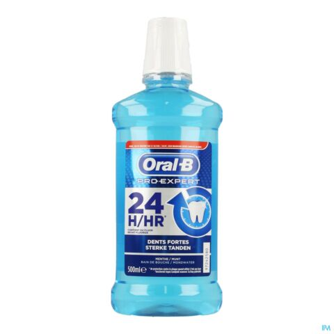 Oral-B Pro-Expert Dents Fortes Bain de Bouche Flacon 500ml