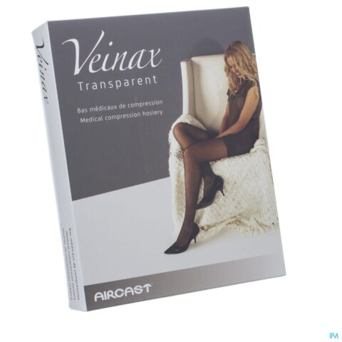 Veinax Collant Transparent 2 Long Beige Taille 2