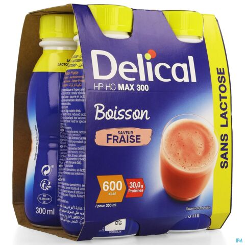DELICAL MAX 300 FRAISE 4X300ML