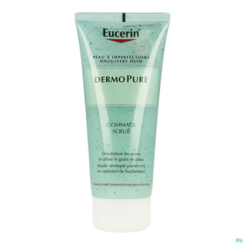 Eucerin DermoPure Gommage Peaux à Imperfections Tube 100ml
