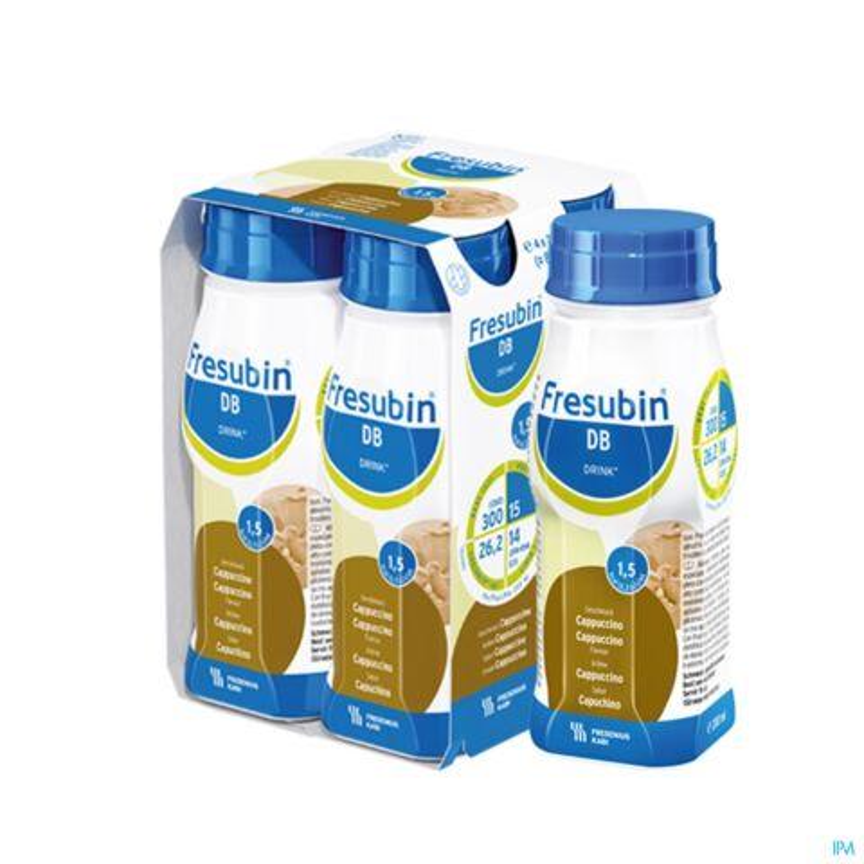 Fresubin DB Drink Cappuccino Bouteille 4x200ml
