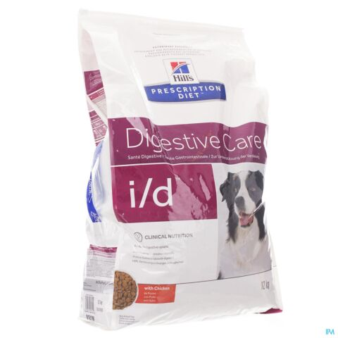 Hills Prescrip Diet Canine Id 12kg 9384m