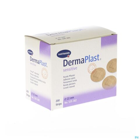 Dermaplast Sensitive 22mm 200 Spots 5353821