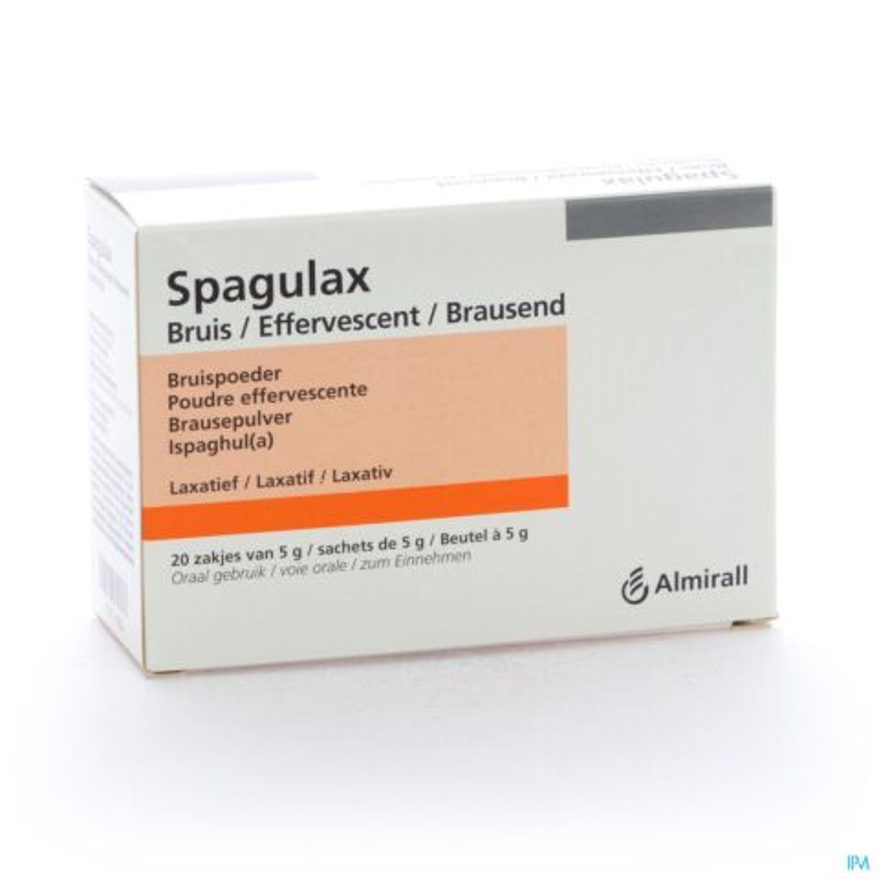 Spagulax Effervescent Poudre Effervescente 5g x 20 Sachets