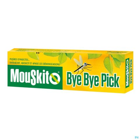 Mouskito Bye Bye Pick Piqûres d'Insectes & Démangeaisons Roller 15ml