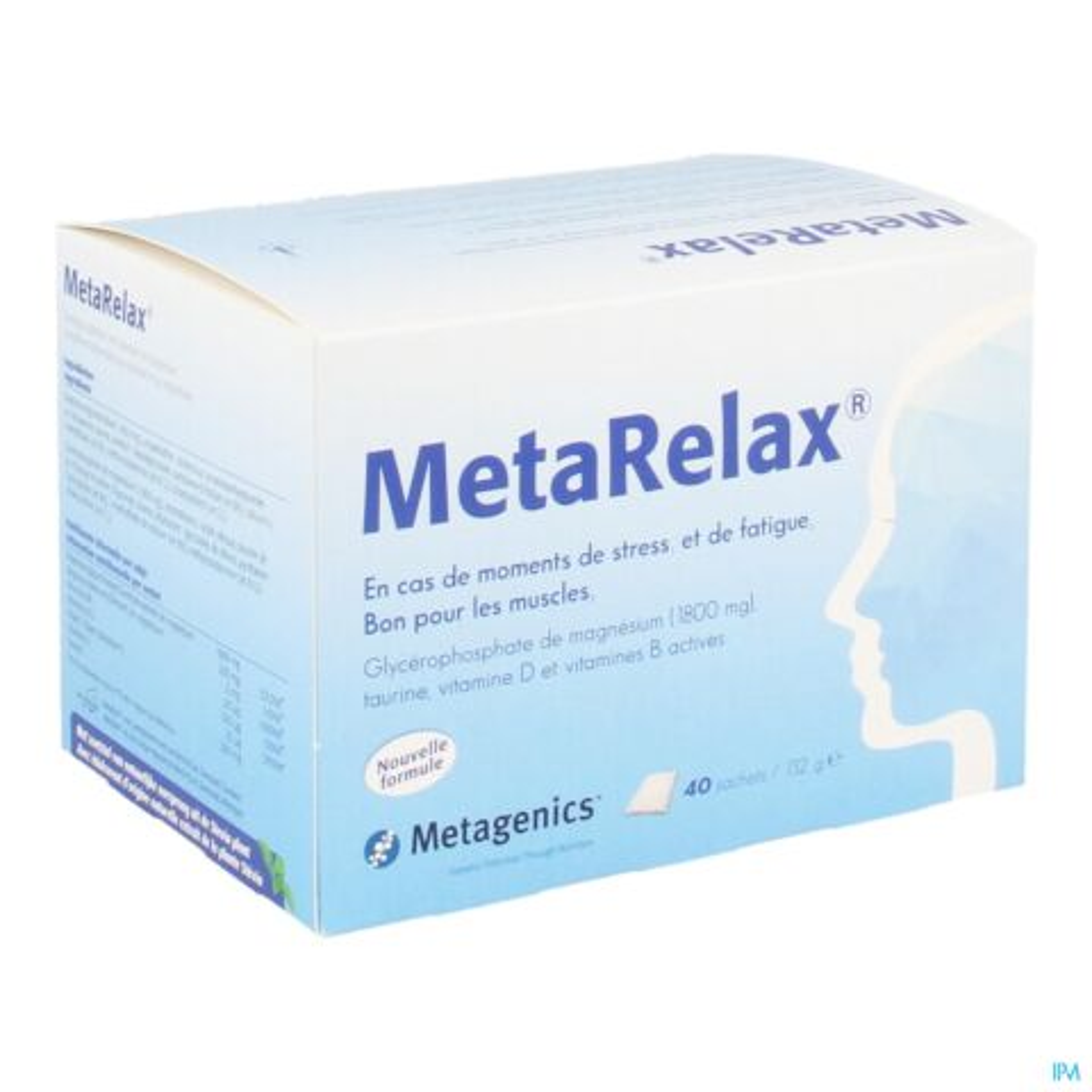METARELAX NF SACHET 40 21862 METAGENICS