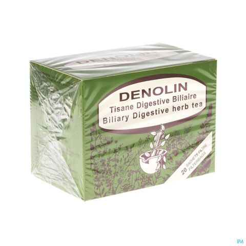 Denolin Tisane Antibiliaire S F 20