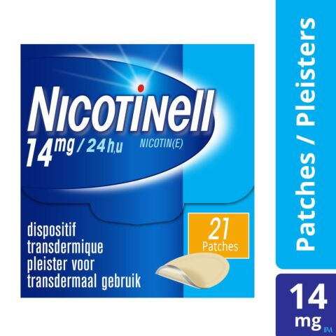 Nicotinell TTS 14mg 21 Patchs