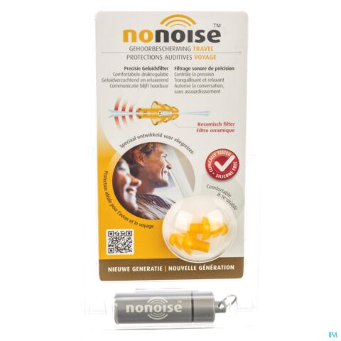 NoNoise Protections Auditives Voyage 1 Paire