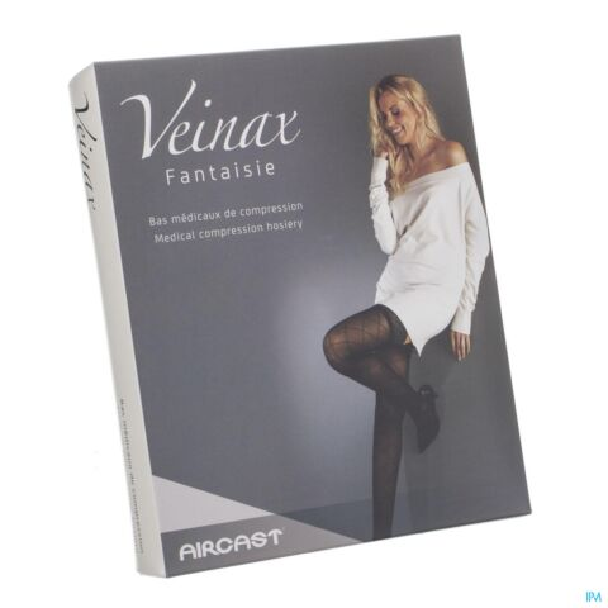 Veinax Collant Petit Losange 2 Long Noir Taille 3