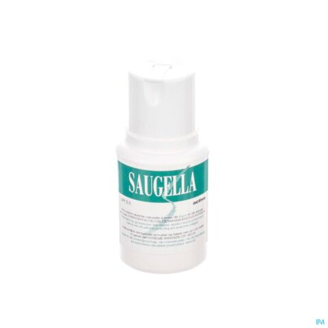 Saugella Active Emulsion Lavante Hygiène Intime Flacon 100ml