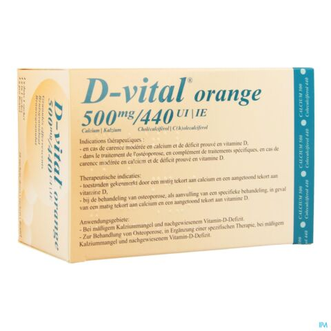 D-Vital 500mg/440UI Orange 30 Sachets