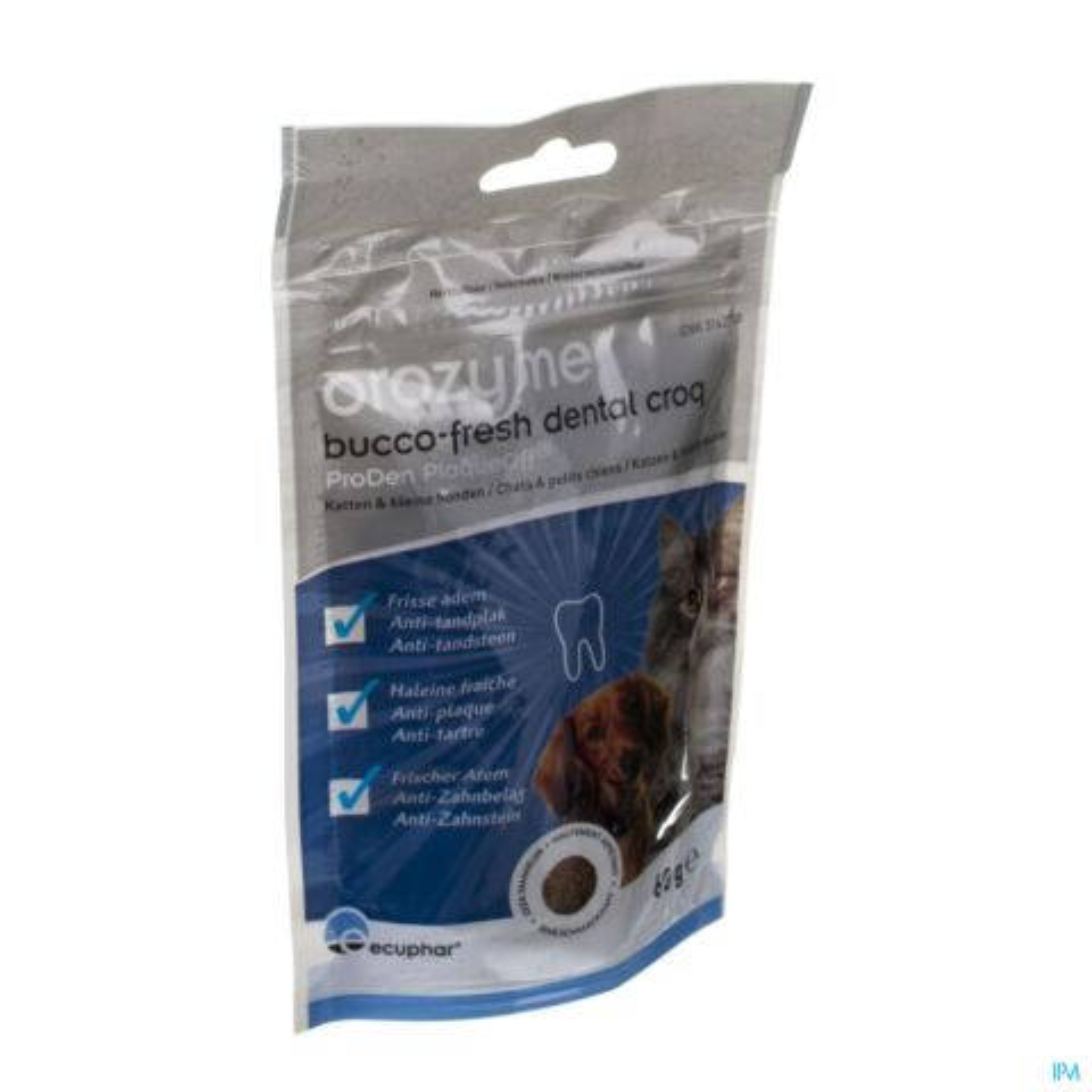 OROZYME BUCCO-FRESH DENTAL CROQ DOG&CAT