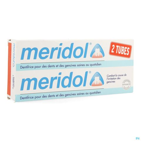 Meridol Dentifrice Tube Pack Duo 2x75ml