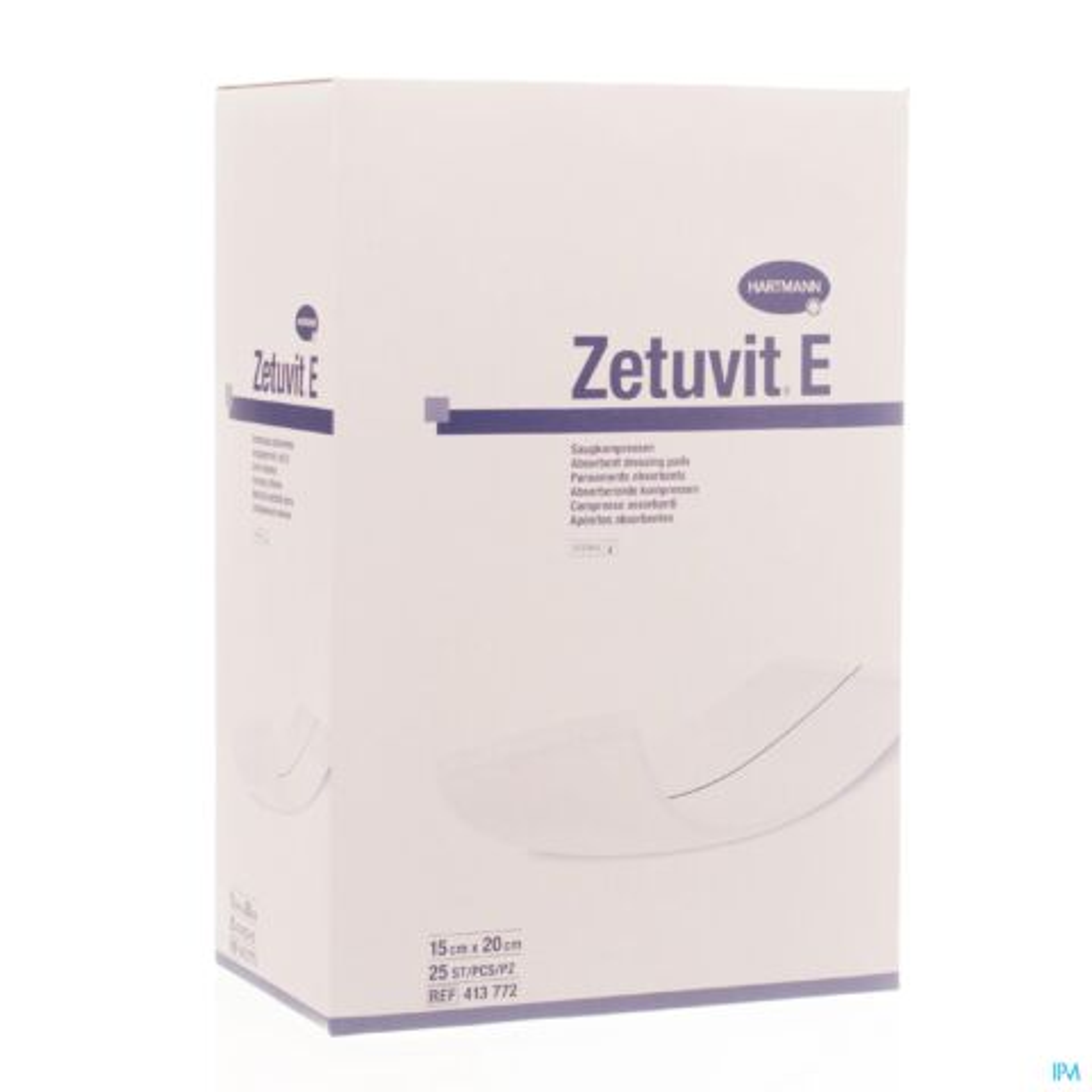 Hartmann Zetuvit E Pansements Absorbants Doux Stériles 15cmx20cm 25 Pièces