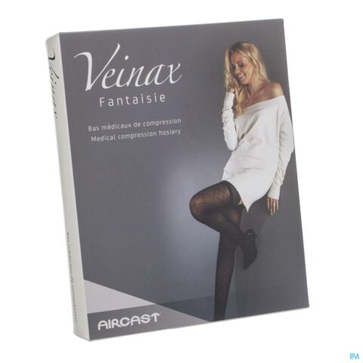 Veinax Collant Grand Losange 2 Long Noir Taille 2